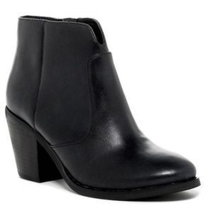 SEYCHELLES Stay Gold Black Ankle Boot Bootie 8